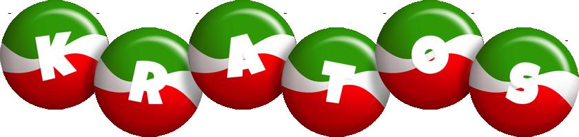 Kratos italy logo
