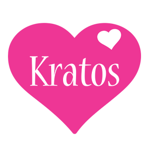 Kratos love-heart logo