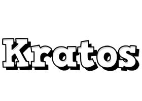 Kratos snowing logo