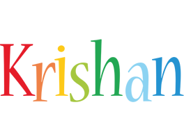 Krishan birthday logo