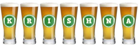 Krishna lager logo