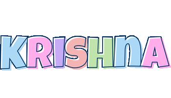 Krishna pastel logo
