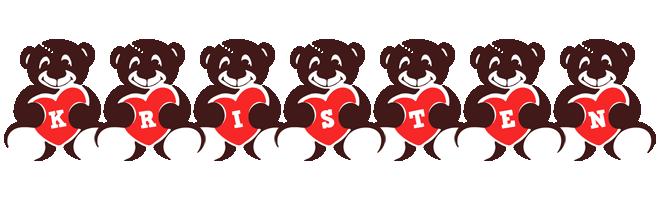 Kristen bear logo