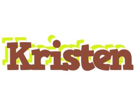 Kristen caffeebar logo