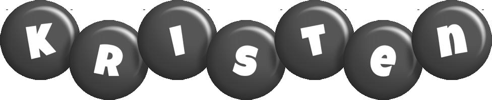 Kristen candy-black logo