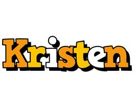 Kristen cartoon logo
