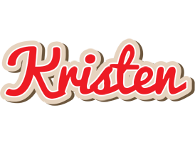 Kristen chocolate logo