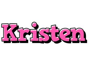 Kristen girlish logo