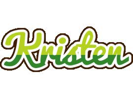 Kristen golfing logo