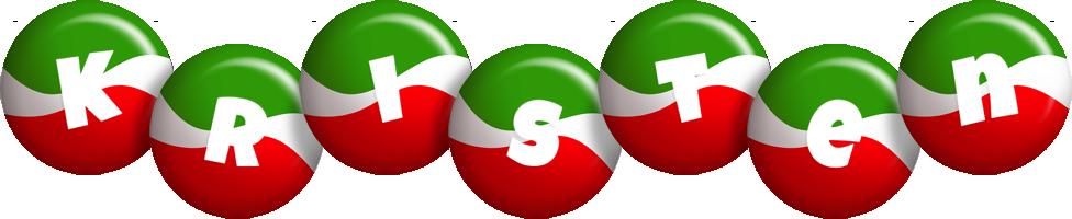 Kristen italy logo