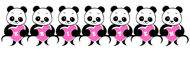 Kristen love-panda logo