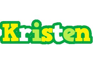 Kristen soccer logo