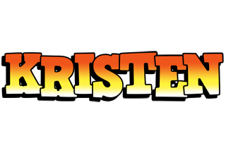 Kristen sunset logo