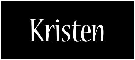 Kristen welcome logo