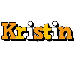 Kristin cartoon logo