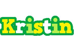 Kristin soccer logo