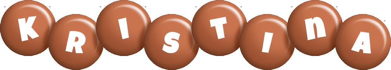 Kristina candy-brown logo