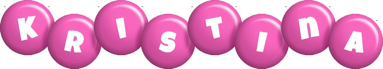 Kristina candy-pink logo