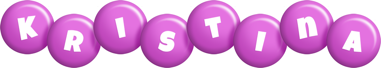Kristina candy-purple logo