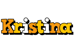 Kristina cartoon logo