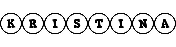 Kristina handy logo