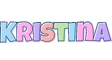 Kristina pastel logo