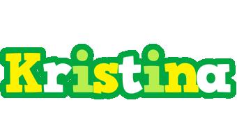 Kristina soccer logo