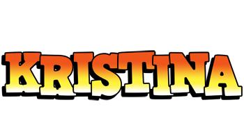 Kristina sunset logo