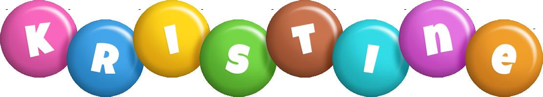 Kristine candy logo
