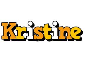 Kristine cartoon logo
