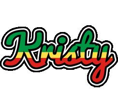 Kristy african logo