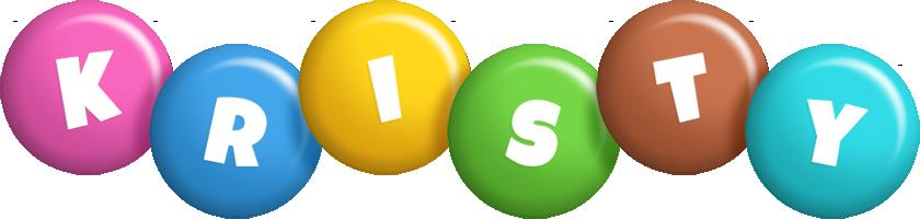 Kristy candy logo