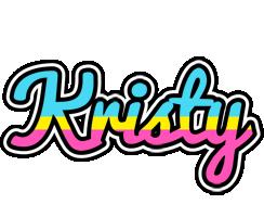 Kristy circus logo