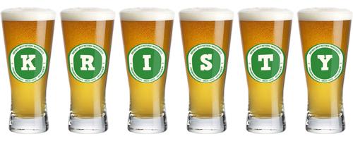 Kristy lager logo