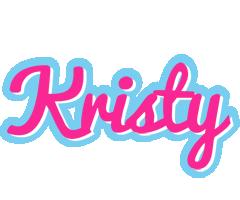Kristy popstar logo