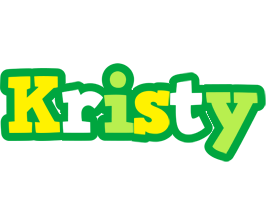 Kristy soccer logo