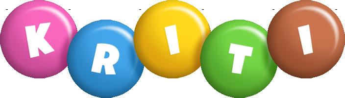 Kriti candy logo