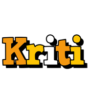 Kriti cartoon logo