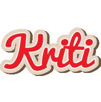 Kriti chocolate logo