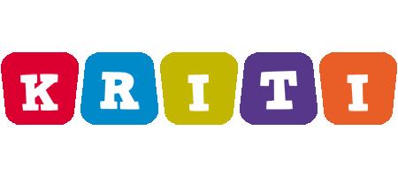 Kriti daycare logo
