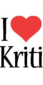 Kriti i-love logo
