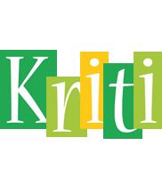Kriti lemonade logo