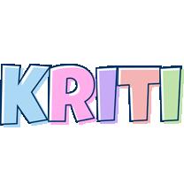 Kriti pastel logo