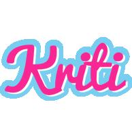 Kriti popstar logo