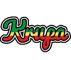 Krupa african logo