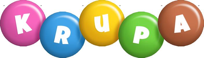 Krupa candy logo