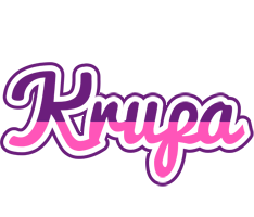 Krupa cheerful logo