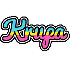 Krupa circus logo