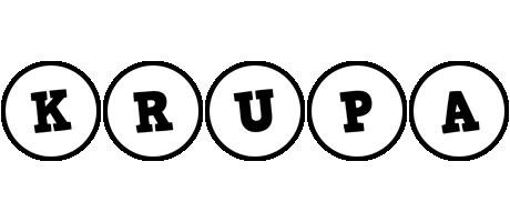 Krupa handy logo