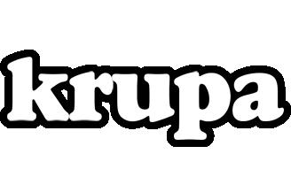 Krupa panda logo